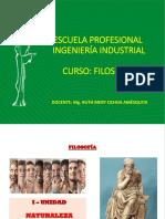 SEMANA 2 - NATURALEZA DE LA  FILOSOFÍA