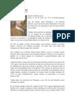 Biografia Jean Jacques Rousseau