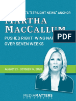 "117 times Fox's ""straight news"" anchor Martha MacCallum pushed right-wing narratives over seven weeks"