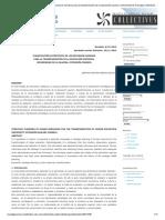 Planificación estratégica de los recursos humanos para la transformación de la educación superior, Universidad de la Guajira, Extensión Fonseca _ Orozco Daza _ Collectivus