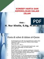 Konsep Harta Dan Kepemilikan Islam
