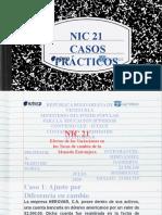 Caso Práctico - NIC 21