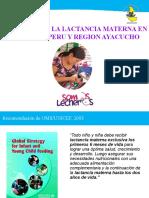 01. Situacion Lactancia Materna Mundial Peru Ayacucho