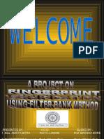 Filter bank-Based Fingerprint verification