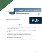Jurnal de Consiliere Psihologica nr. 8 -  iulie 2008