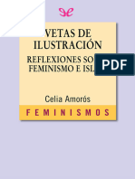 [Feminismos 98] Amoros, Celia - Vetas de Ilustracion reflexiones sobre feminismo e Islam [55231] (r1.0)