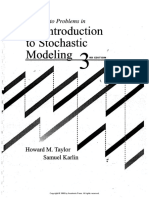 Solutions Manual for an Introduction to Stochastic Modeling (Karlin, Taylor)