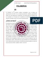 POLIETILENO, POLIPROPILENO, PVC