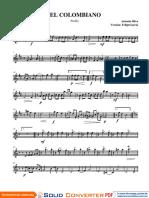 [El Colombiano score - Oboe (1)