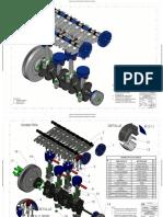 Planos de tren motor-AutoCad