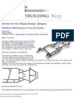 Chassis Design archive at Kartbuilding Blog