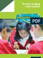 Read Write Inc. Fresh Start Brochure