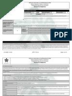 Reporte Proyecto Formativo - 2011223 - APOYAR EL DESARROLLO DE LOS PR