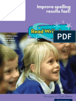 Read Write Inc. Spelling Brochure
