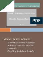 Tema 3 Base de dados relacionais