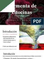 TORMENTA DE CITOCINAS