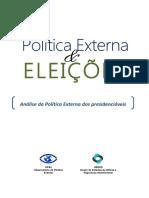 Política Externa & Eleições