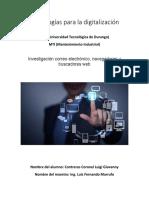 Tecnologías para la digitalización 1