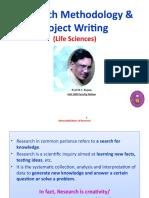 Prof MV Rajam, Res Method ppt