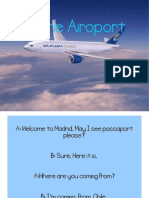 At the Airoport (Zaira)