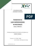 Passiefhuis & Lage energiewoning in houtskelet