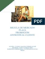 MEZCLA DE MERCADO