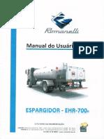 Manual Operação e Manutenção - Romanelli
