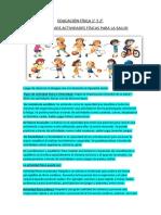 EDUCACIÓN FÍSICA 2
