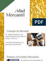 Actividad Mercantil