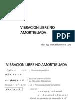 Vibracion Libre No Amortiguada 1 Gdl (1)