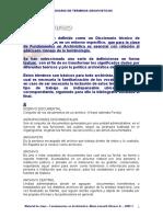 GLOSARIO ARCHIVISTICO -2009