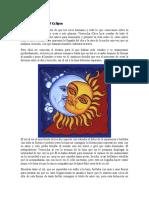 La Leyenda Inca Del Eclipse