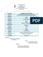 CLASS PROGRAM SY 2020-2021