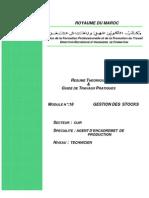 M18 - GESTION DES  STOCKS CUIR-AE