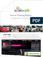 Socialwalk Business Matching giving Value to Your Exhibitors