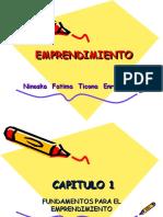 CAPITULO 1 Emprendimiento