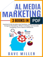 Dave Miller - Social Media Marketing,3 books in one_ Excellent Tricks to Grow your business,Instagram Marketing to become a famous influencer,Tiktok and You Tube to make Viral Videos (2020).epub