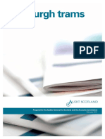 Audit Scotland Edinburgh Trams Report February 2011