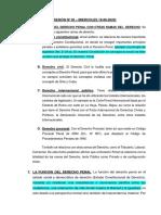 SESIÓN Nº 02 - RELACIÓN DEL DERECHO PENAL CON OTRAS DISCIPLINAS, FUNCIÓN Y RELACIÓN CON LOS DDH Y LOS DDFF