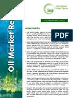 World oil market report-IEA-2010