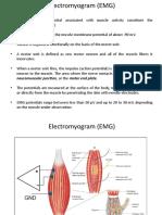 ELECTROMYOGRAM(EMG)