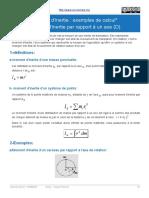 Moment dinertie par rapport à un axe (D) 1