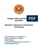 College of Arts and Sciences Education.docx