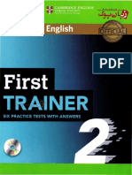 First Trainer 2 Six Practice Tests without Answers with Audio.pdf