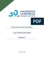 Guía de Ejercicios - ELECTROMAGNETISMO