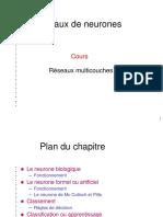 Partie II-Réseaux de neurones