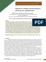 acceptance sampling plan for multipal manufacturung lines.