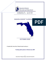 Mason Dixon Poll of Florida - October 16