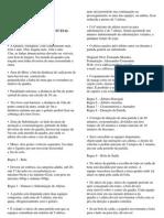 Resumo Regras Oficiais Do Futsal