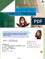 7 ano  A 13 de agosto  CORREÇÃO  estatistica media aritmetica 1, 2